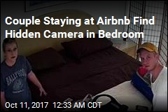 Couple Staying at Airbnb Find Hidden Camera in Bedroom