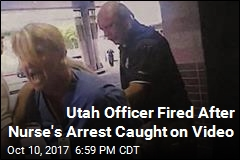 Cop Who Dragged Screaming Nurse From Hospital Fired