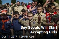 Boy Scouts Will Start Accepting Girls