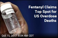 Fentanyl Claims Top Spot for US Overdose Deaths