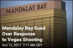 Mandalay Bay Sued Over Response to Vegas Shooting
