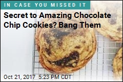 Secret to Amazing Chocolate Chip Cookies? Bang Them