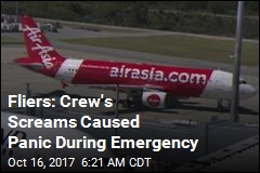 Passengers: Flight Crew Panicked During Emergency