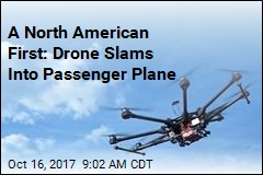 A North American First: Drone Slams Into Passenger Plane