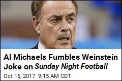 NBC Sportscaster Sorry for 'Flip' Weinstein Joke