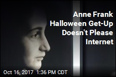Yanked From Halloween Site: Anne Frank Costume