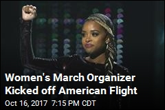 Women's March Organizer Kicked off American Flight