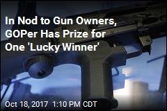 Republican Giving 'Lucky Winner' a Bump Stock