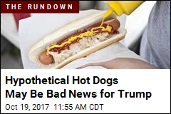 Hypothetical Hot Dogs May Be Bad News for Trump
