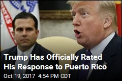 Trump on Puerto Rico Response: 'I'd Say It Was a 10'
