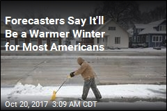 NOAA Predicts Warmer Winter for Most Americans