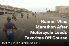 Runner Wins Marathon After Lead Pack Takes Wrong Turn