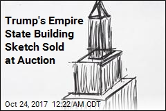 Trump Drawing Auctioned Off for $16K