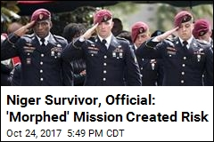 Before Niger Ambush, Team's Objective Changed: Sources