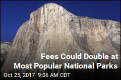 Fees Could Double at Most Popular National Parks