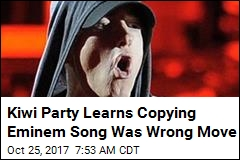Judge: Kiwi Party to Pay $415K Ripping Off Eminem Song