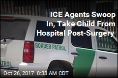 Child With Cerebral Palsy Taken by ICE Agents Post-Surgery