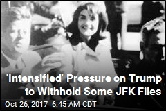 Trump Coy About Today's Release of Secret JFK Files