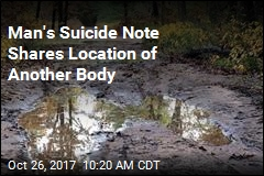 Man's Suicide Note Shares Location of Another Body