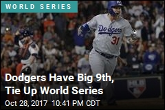 Dodgers Have Big 9th, Tie Up World Series