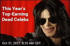 This Year's Top-Earning Dead Celebs