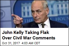 John Kelly: Civil War Caused by Inability to 'Compromise'