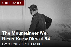 The Mountaineer We Never Knew Dies at 94
