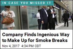 Company Gives Non-Smokers 6 Extra Holidays a Year