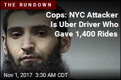 NYC Suspect Is Uber Driver From Uzbekistan