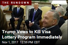 Trump-Schumer Spat Puts Spotlight on Visa Lottery