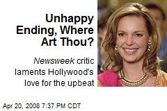 Unhappy Ending, Where Art Thou?