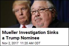 Mueller Investigation Sinks a Trump Nominee