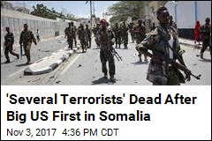 'Several Terrorists' Dead After Big US First in Somalia
