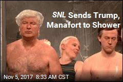SNL Sends Trump, Manafort to Shower