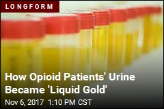 The Opioid Epidemic Has a Quiet Side Hustle in Urine