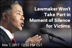 Lawmaker Won't Take Part in Moment of Silence for Victims