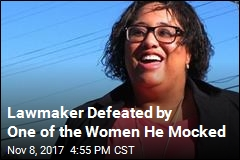 Lawmaker Defeated by One of the Women He Mocked