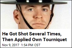 Shot Trooper Likely Saved His Own Life With Tourniquet