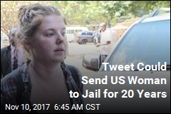 Tweet Could Send US Woman to Jail for 20 Years