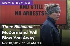 Three Billboards Could Bring Oscar No. 2 for McDormand
