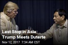 Trump, Duterte Meet in Manila