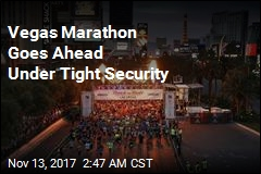 Vegas Marathon Goes Ahead Under Tight Security