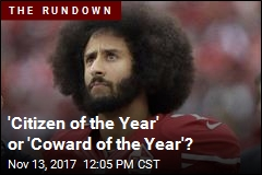 'Citizen of the Year' or 'Coward of the Year'?