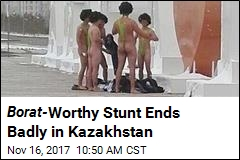 Tourists Detained for Wearing Mankinis in Kazakhstan