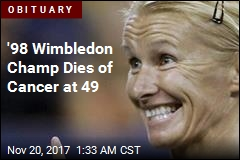 Wimbledon Champion Jana Novotna Dies at 49