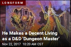 Odd Professional Title: D&D 'Dungeon Master'