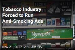 Big Tobacco to Air Anti-Smoking Ads on TV
