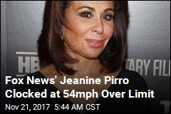 Fox News' Jeanine Pirro Caught Driving 119mph
