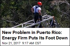 Energy Firm to Puerto Rico: No More Work Till We Get $83M