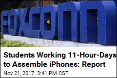 Teens Working Illegal Overtime to Assemble iPhones: Report